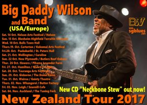 Big Daddy Wilson New Zealand 2017